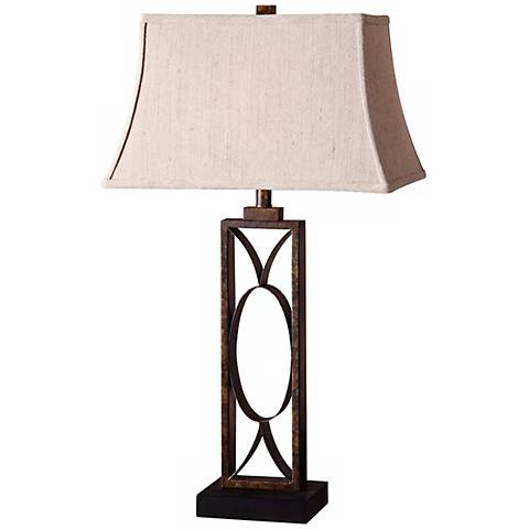 Uttermost Manicopa Dark Bronze Table Lamp