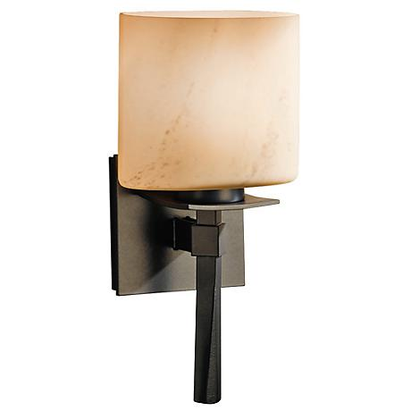 Hubbardton Forge Beacon Hall Stone Glass Wall Sconce - #R6371 Lamps Plus