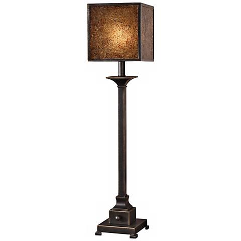 Uttermost Meora Stained Crushed Glass Buffet Table Lamp