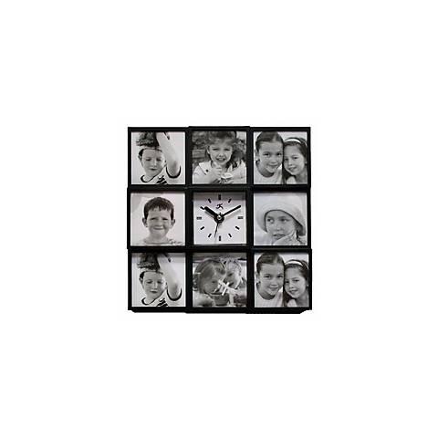 "Cherished Memories 9 3/4"" Square Wall Clock"