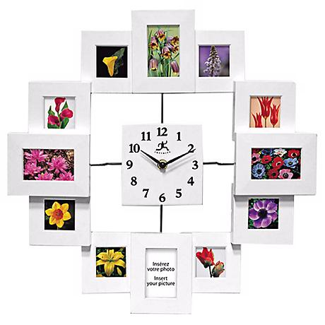 """Time Capsule 15 3/4"""" Squared Wall Clock"""