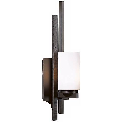 Hubbardton Forge Ondrian Opal Glass Right Wall Sconce
