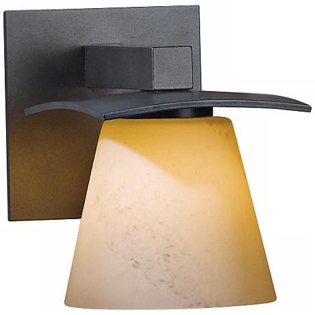 Hubbardton Forge Wren Stone Glass Wall Sconce