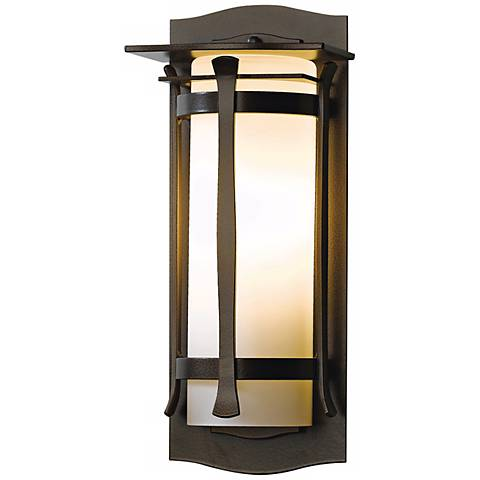 "Hubbardton Forge Sonora 14"" High Outdoor Wall Light"