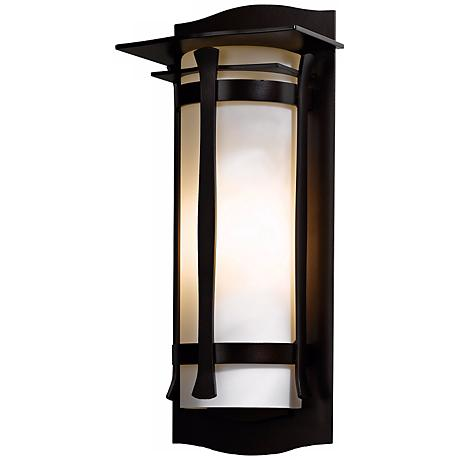 """Hubbardton Forge Sonora 19 1/4"""" High Outdoor Wall Light"""