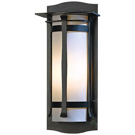 """Hubbardton Forge Sonora 24 1/2"""" High Outdoor Wall Light"""