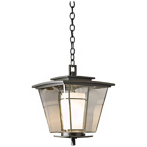 "Hubbardton Forge Beacon Hall 16"" High Outdoor Hanging Light"