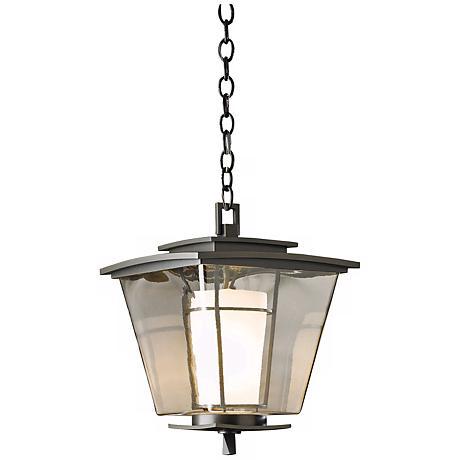 "Hubbardton Forge Beacon Hall 16"" High Outdoor Hanging Light"