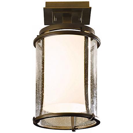 Hubbardton Forge Meridian Outdoor Semiflush Ceiling Light