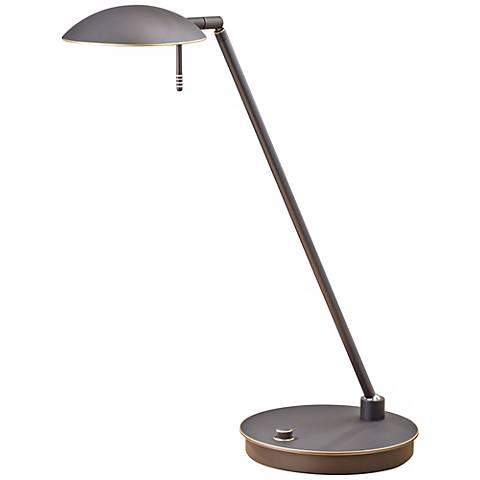 Old Bronze Bernie Turbo Halogen Tilt Holtkoetter Desk Lamp