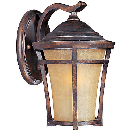 """Maxim Balboa VX 14"""" High Copper Oxide Wall Light"""