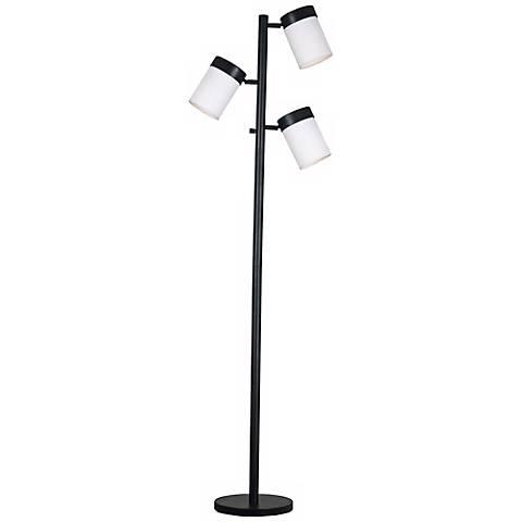 Kenroy Roarke Oil-Rubbed Bronze 3-Light Floor Lamp