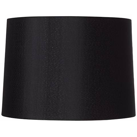 Black Hardback Drum Shade 13x14x10.25 (Spider)
