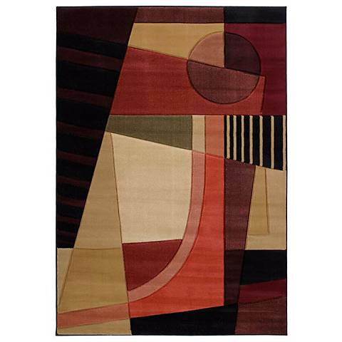 Mossa Collection Uptown Green Area Rug