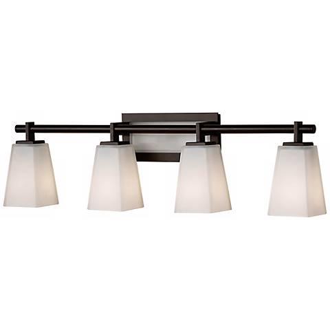 Feiss Clayton 31 1 2 Wide Bathroom Light Fixture R9264 Lamps Plus