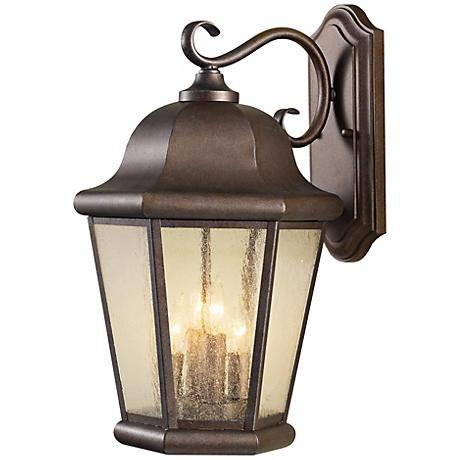 """Feiss Martinsville 20"""" High Outdoor Wall Lantern"""