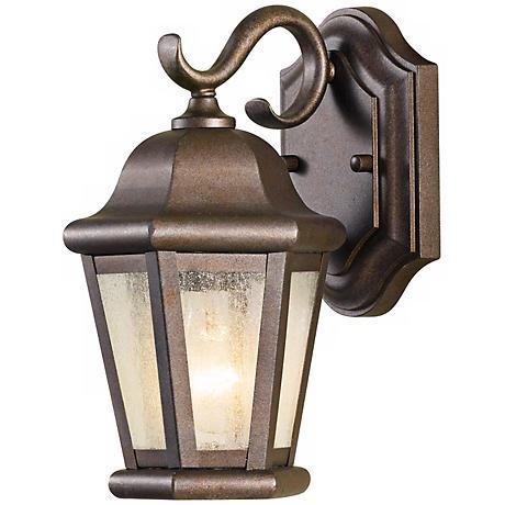 """Feiss Martinsville 10 3/4"""" High Outdoor Wall Lantern"""