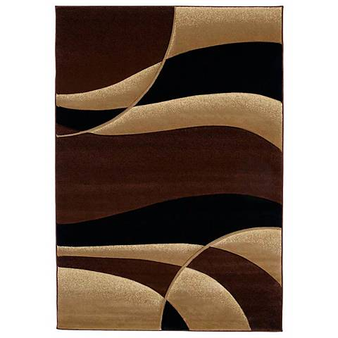 Mossa Collection Anacapa Toffee Area Rug