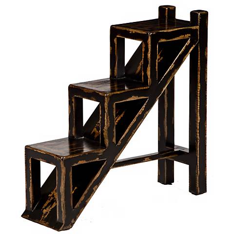 Uttermost Asher Black Accent Table