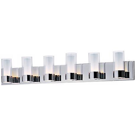 Maxim Silo Polished Chrome 6-Light Bathroom Light Fixture