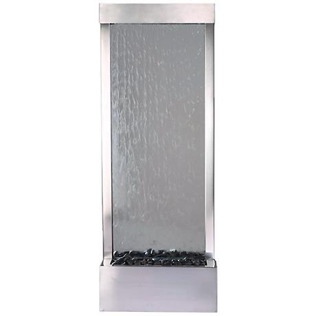 "Gardenfall Stainless Steel 48"" High Indoor/Outdoor Fountain"