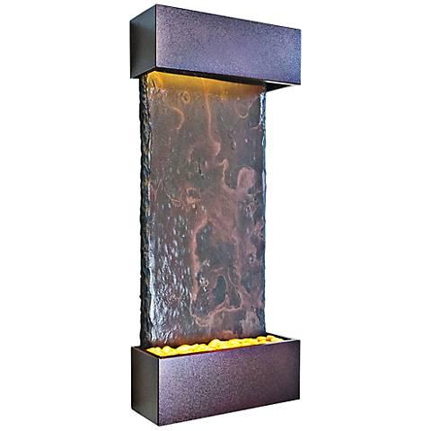Nojoqui Falls Medium Coppervein Indoor Wall Fountain