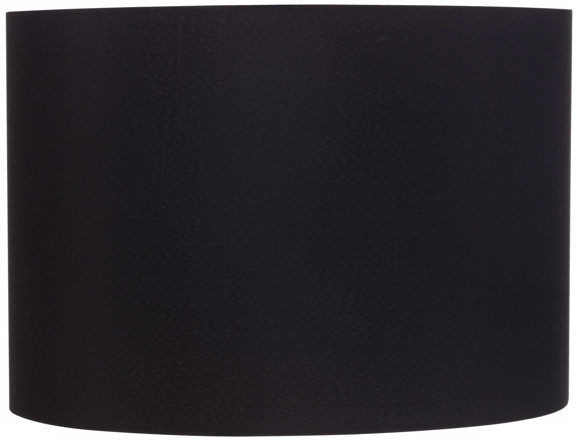black hardback drum shade 16x16x11 spider - Drum Shade