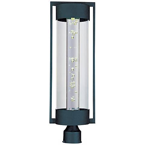 "Maxim New Age Ebony 26"" High Outdoor LED Post Mount"