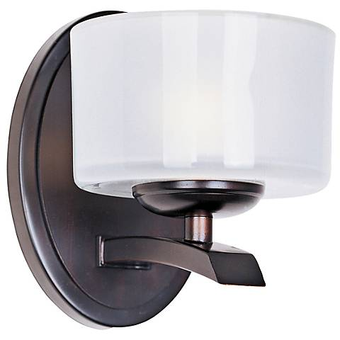 """Maxim Elle Collection Bronze 6 1/2"""" High Wall Sconce"""
