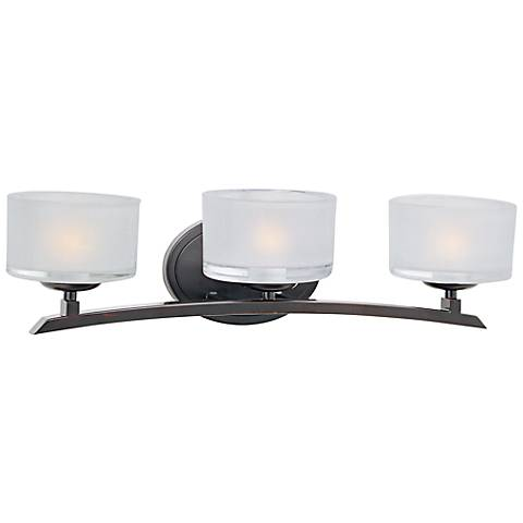 Maxim Elle Collection Bronze 3 Light Wall Sconce
