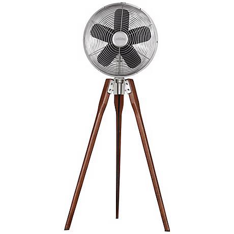 Fanimation Arden Satin Nickel Tripod Floor Fan