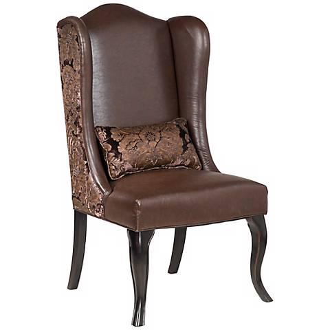 Brown Pullman Chair