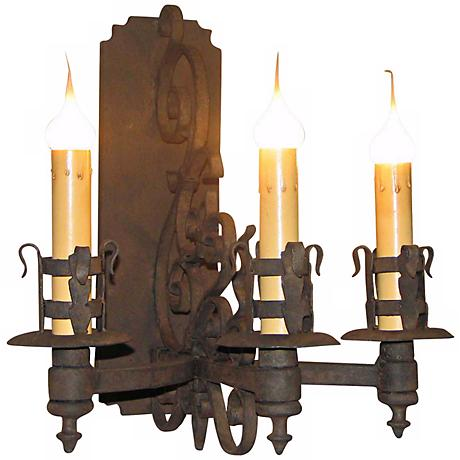 "Laura Lee Gubbio 3-Light 17"" High Wall Sconce"