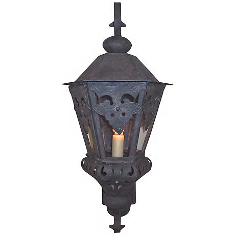 """Laura Lee Morocco Large 26"""" High Outdoor Wall Lantern"""
