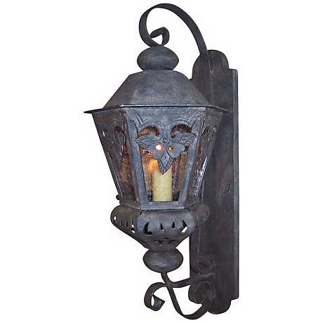 "Laura Lee Morocco Small 23"" High Outdoor Wall Lantern"