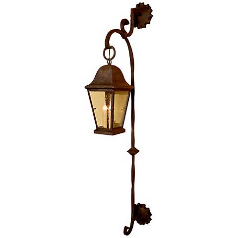 "Laura Lee Berkeley 64"" High Outdoor Wall Lantern"