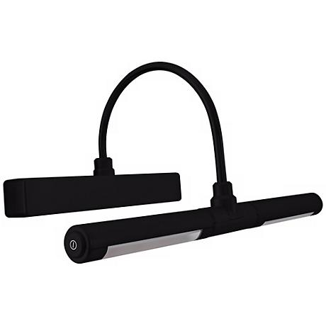 """Black Battery Powered 13""""W Dimmable Picture Light"""