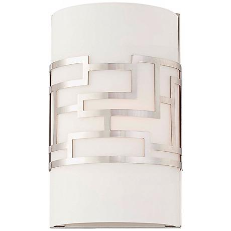 """George Kovacs Alecia's Necklace 10 1/2"""" High Wall Sconce"""