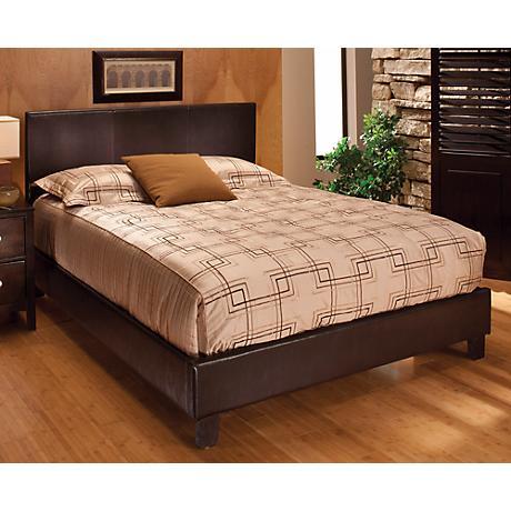 Hillsdale Harbortown Brown Bed