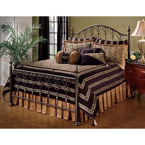 Hillsdale Huntley Dusty Bronze Bed