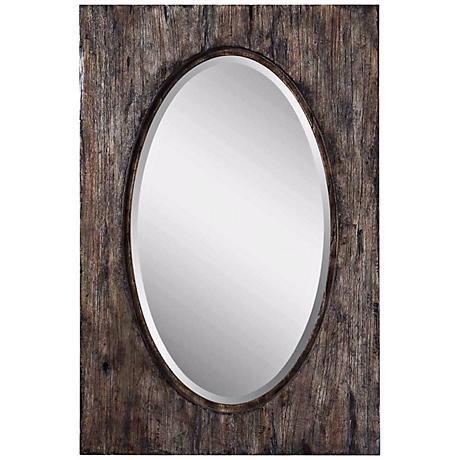 "Uttermost Hitchcock 36"" High Wall Mirror"