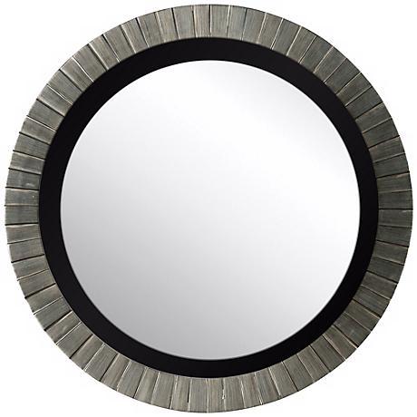 """Silver Bushel 36"""" High Wall Mirror"""