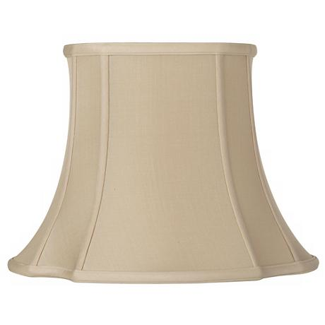 Sand French Oval Shade 6.75/8.5x12.25/14x10.5 (Spider)