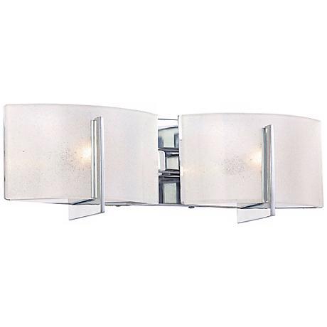 """Minka Lavery Clarte Chrome 17 3/4"""" Wide Bath Wall Light"""