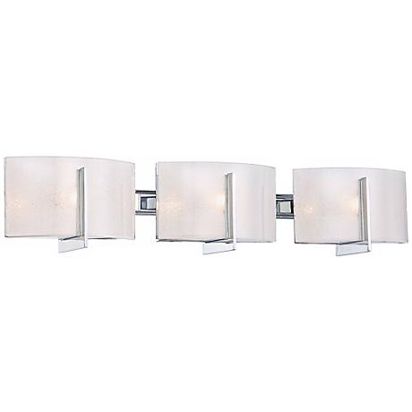 "Minka Lavery Clarte Chrome 27"" Wide Bath Wall Light"