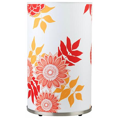 Lights Up Meridian 20 1 2 High Anna Red Table Lamp