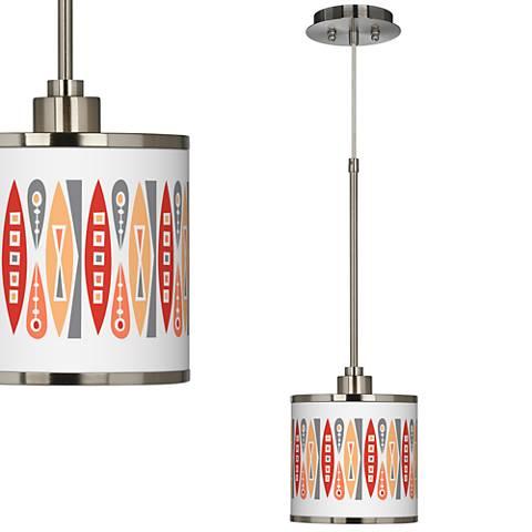 Vernaculis VI Giclee Glow Mini Pendant Light