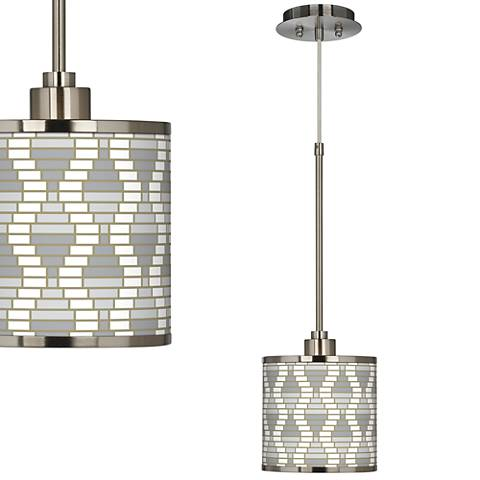 Stepping Out Giclee Glow Mini Pendant Light
