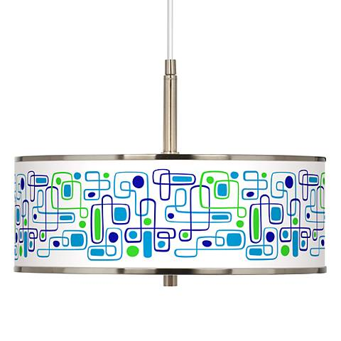 "Racktrack Giclee Glow 16"" Wide Pendant Light"