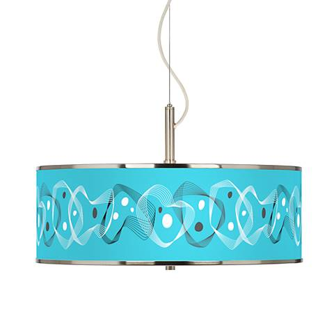 "Spirocraft Giclee Glow 20"" Wide Pendant Light"
